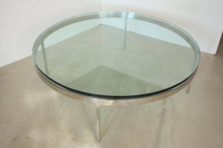 American Nicos Zographos Coffee Table For Sale