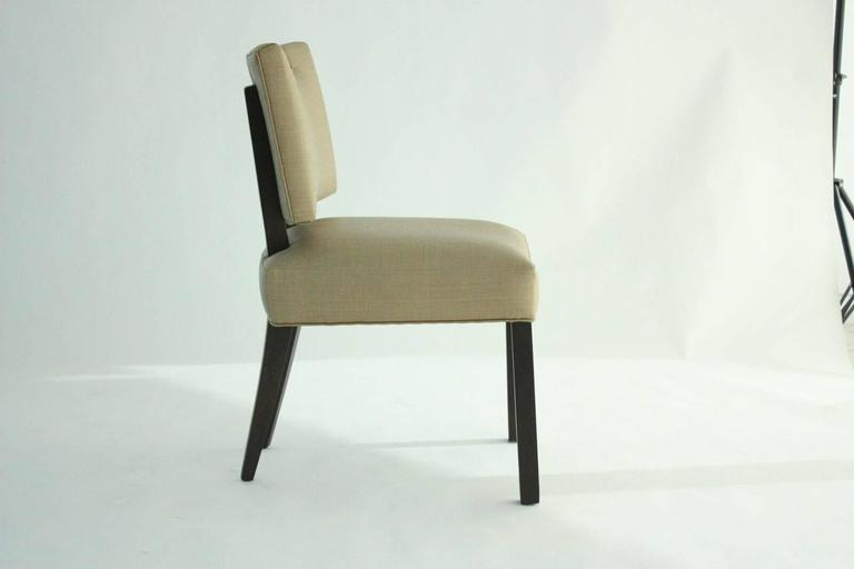 Mid-20th Century Modern Paul Laszlo Dining Chairs, Set of 8.   For Sale
