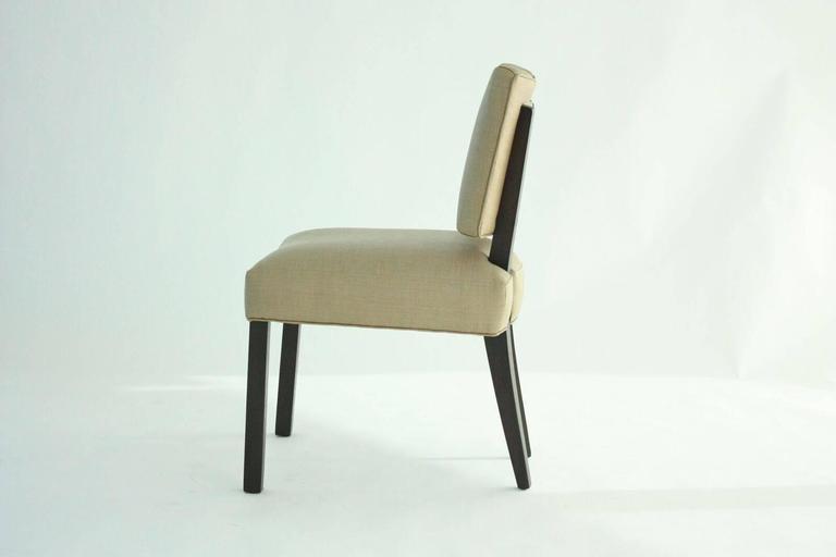 Modern Paul Laszlo Dining Chairs, Set of 8.   2