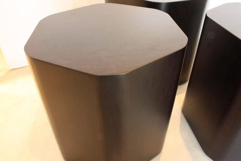 American Emily Summers Studio Line Modern Duck Stools / Coffee Table For Sale