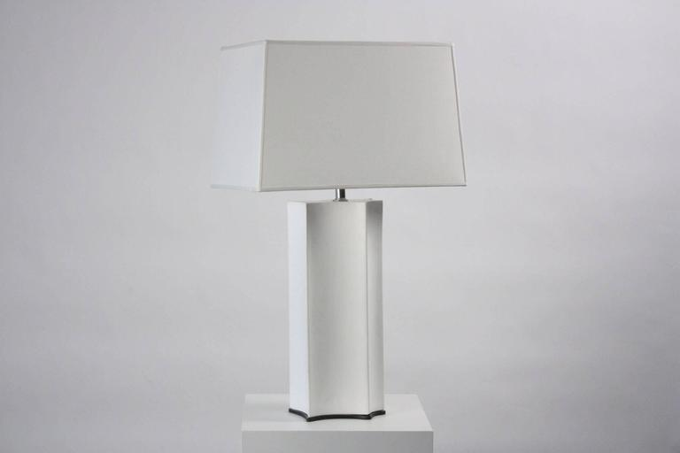 Emily Summers Studio Line Contemporary, Plaster Lamp 2