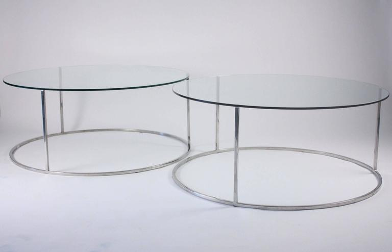 Pair of Design Institute of America Low Tables, Attributed to Milo Baughman 2