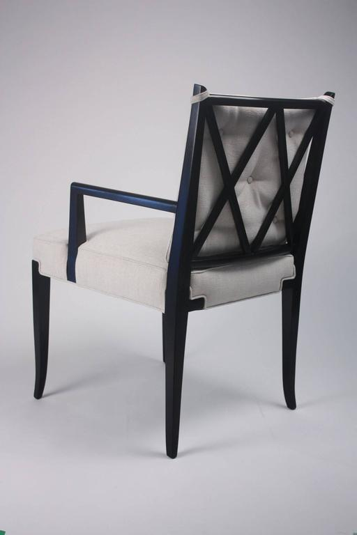 Pair of Tommi Parzinger Side Chairs 4