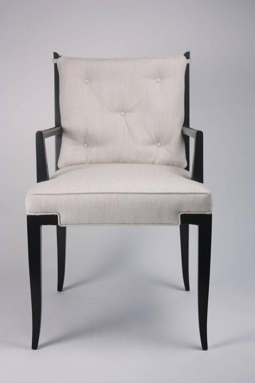 Pair of Tommi Parzinger Side Chairs 6