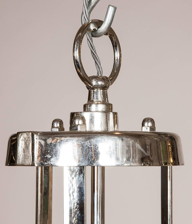 English Hanger Light by Holophane For Sale