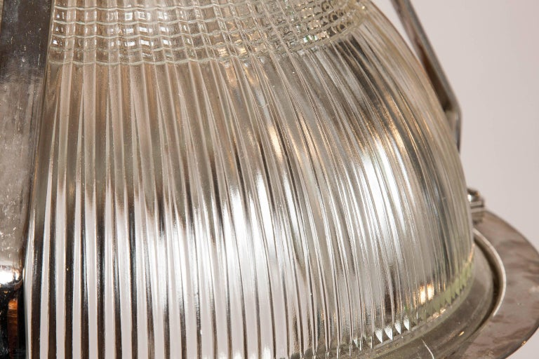 20th Century Hanger Light by Holophane For Sale