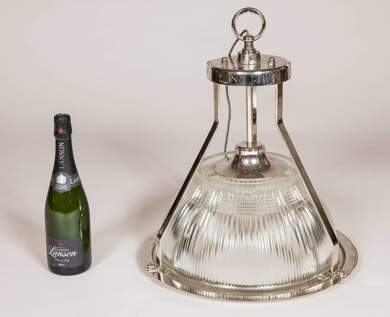 Hanger Light by Holophane For Sale 1