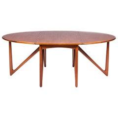 Dining Table Designed by Kurt Østervig, Denmark, circa 1960