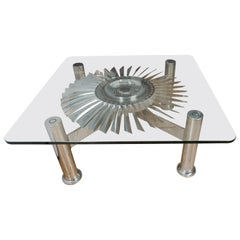 "Rolls Royce ""Spey"" turbine Table"