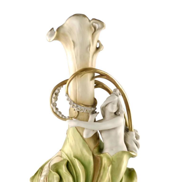 Glazed 19th Century Eduard Stellmacher for Amphora