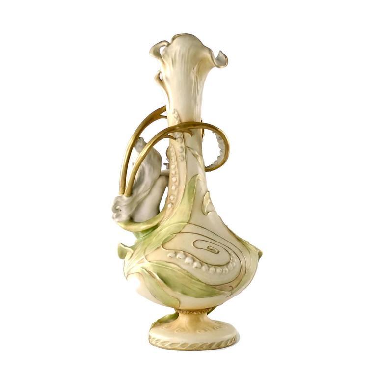 Art Nouveau 19th Century Eduard Stellmacher for Amphora