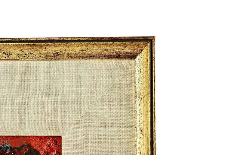 20th Century David Burliuk Neo-Primitive Portrait For Sale 3