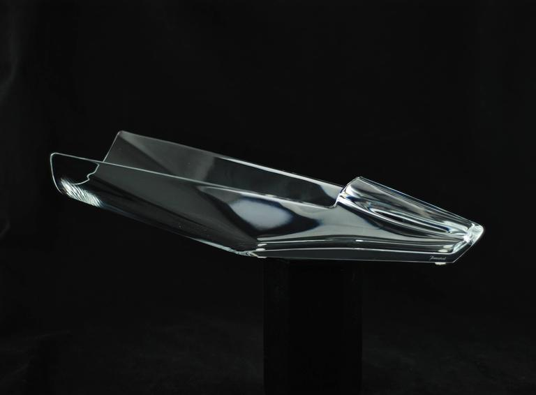 Baccarat Crystal Quot Diva Quot Vase At 1stdibs