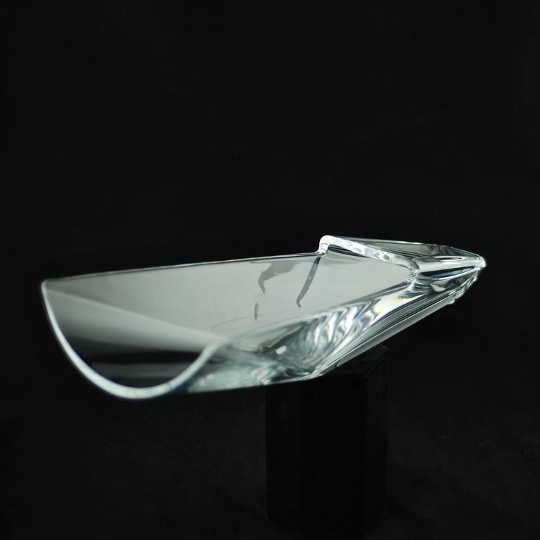 Baccarat Crystal Diva Vase At 1stdibs