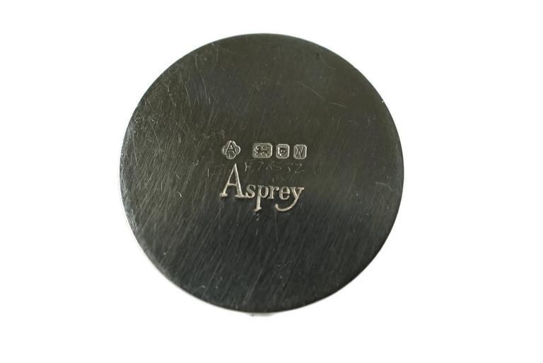 Asprey & Co Sterling Silver Cased Swan Motif Menu Place Card Holders Set of 12 For Sale 1