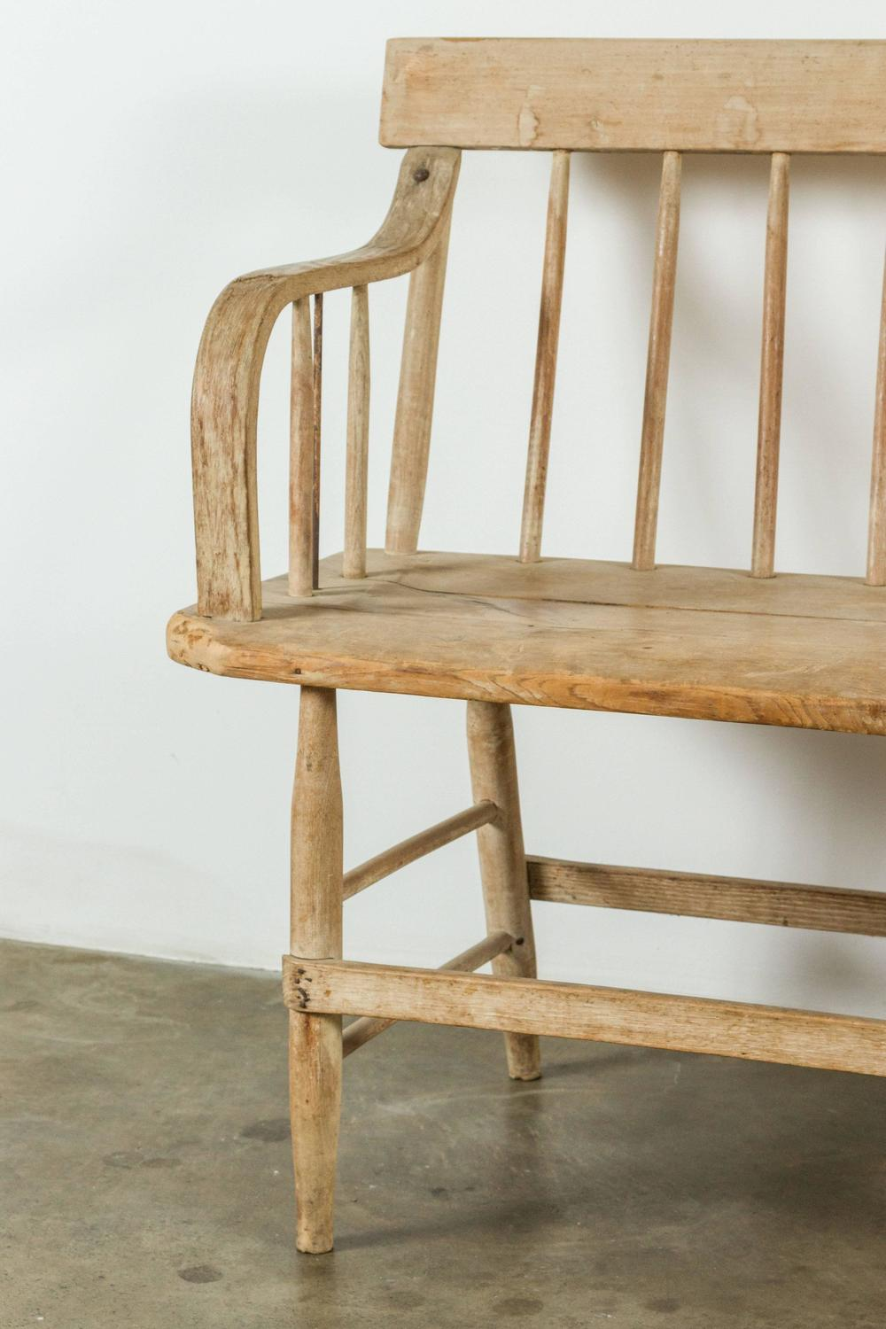 19th Century Deacon's Bench at 1stdibs