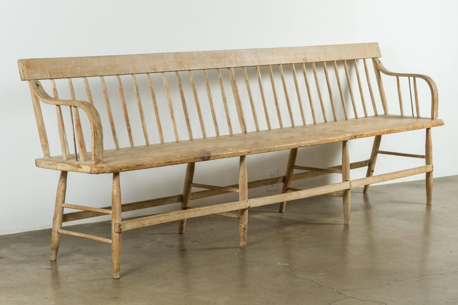 19th Century Deacon 39 S Bench At 1stdibs
