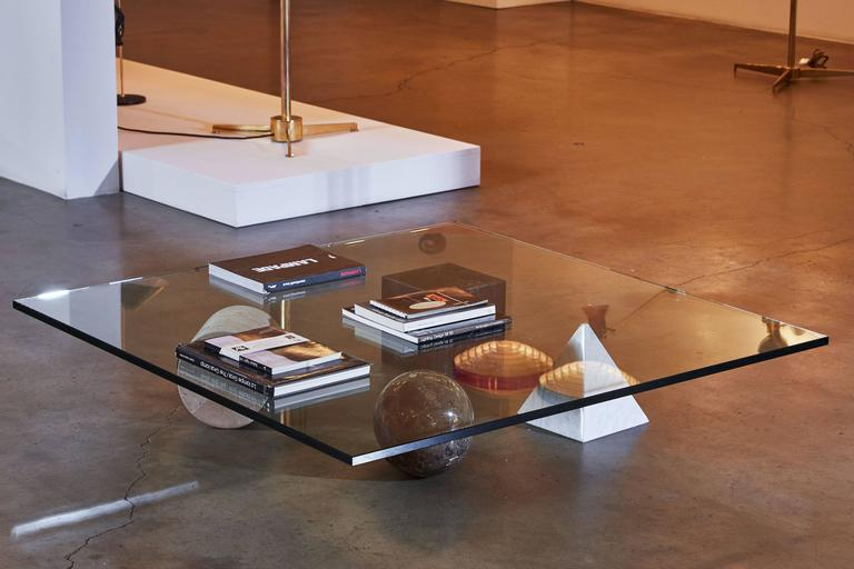 """Marble """"Metaphora"""" Coffee Table by Massimo and Leila Vignelli 8"""
