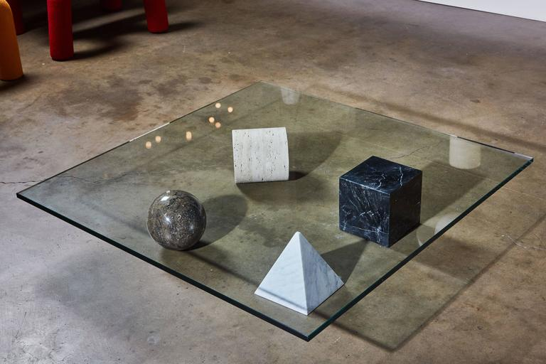 """Marble """"Metaphora"""" Coffee Table by Massimo and Leila Vignelli 5"""