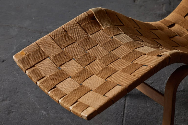 Early Chaise Lounge by Bruno Mathsson For Sale 4