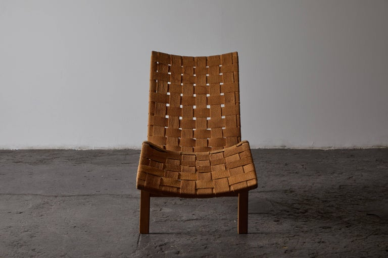 Early Chaise Lounge by Bruno Mathsson For Sale 1