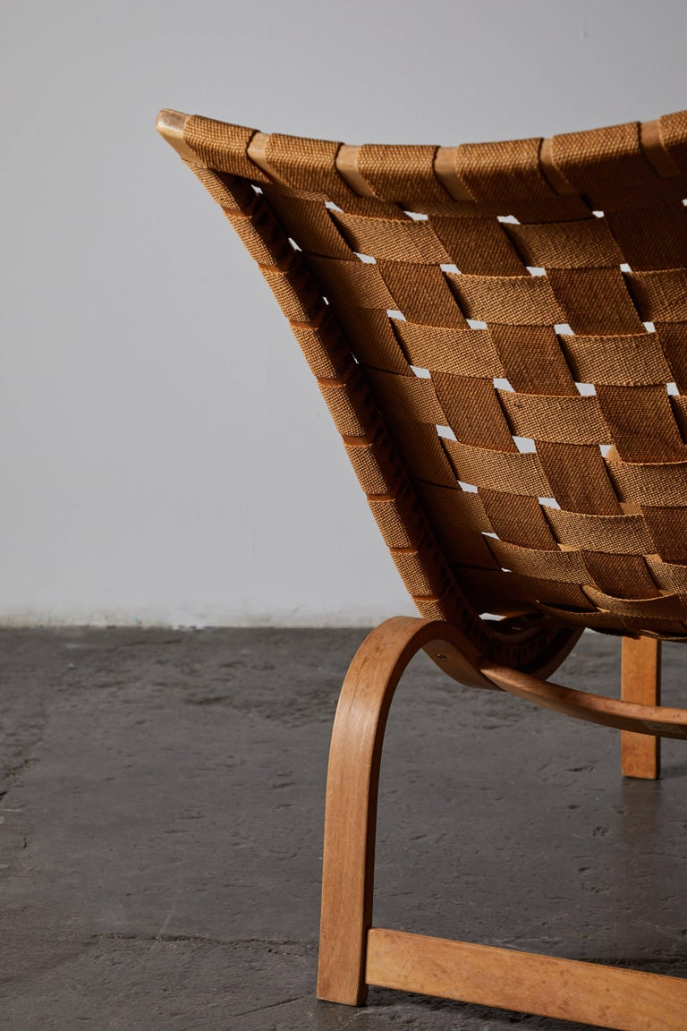 Early Chaise Lounge by Bruno Mathsson For Sale 6