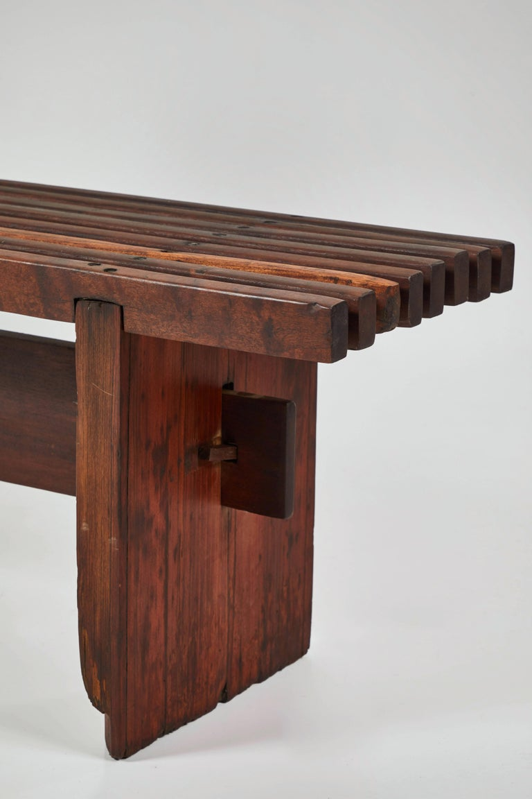 Bench by Lino Bo Bardi For Sale 4