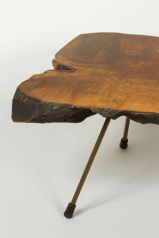 Tree Side Table ~ Monumental tree trunk table by carl auböck for sale at stdibs