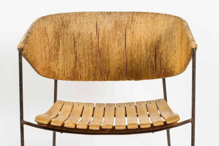 Rare Lounge Chair By Arthur Umanoff At 1stdibs