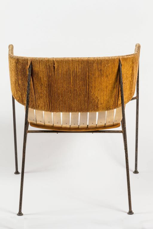 Rare Lounge Chair By Arthur Umanoff At 1stdibs