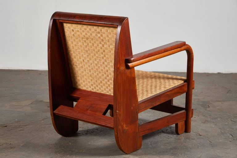 Pair of Lounge Chairs in the Manner of Ilonka Karasz For Sale 2