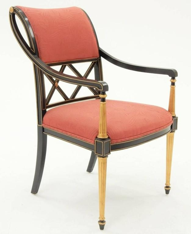 Henredon Dining Room Furniture: Set Of 12 Dorothy Draper Design For Henredon Regency