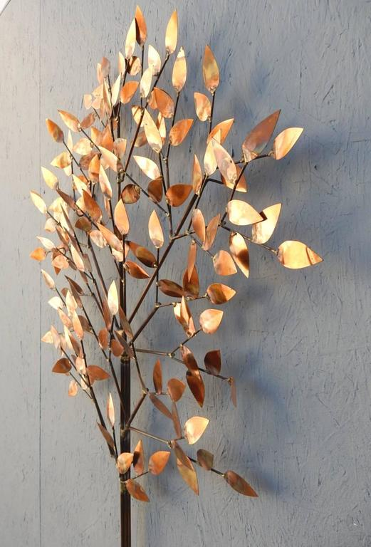 Mid-Century Modern Wall Art Tree Sculpture by Curtis Jere For Sale ...