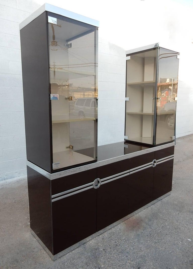 Signed Pierre Cardin buffet with rare additional