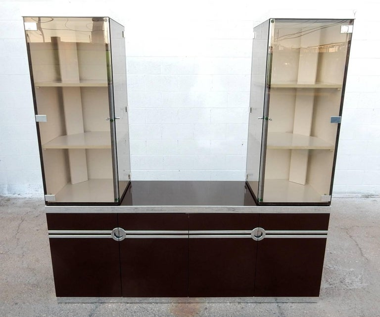 Designer Pierre Cardin Buffet Bar Cabinet Signed, circa 1970s For Sale 1