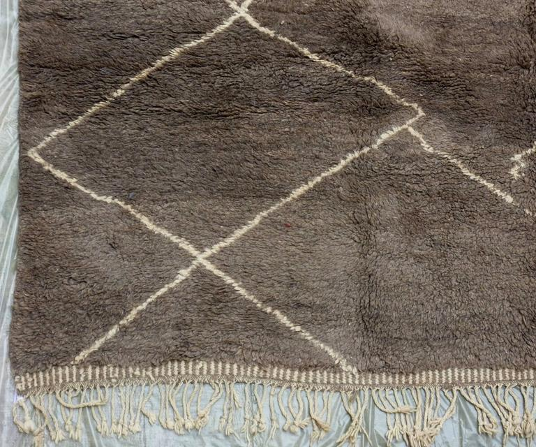 Soft Taupe Grey Beni Ourain Carpet At 1stdibs