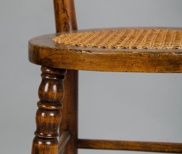 Child S Deportment Chair At 1stdibs