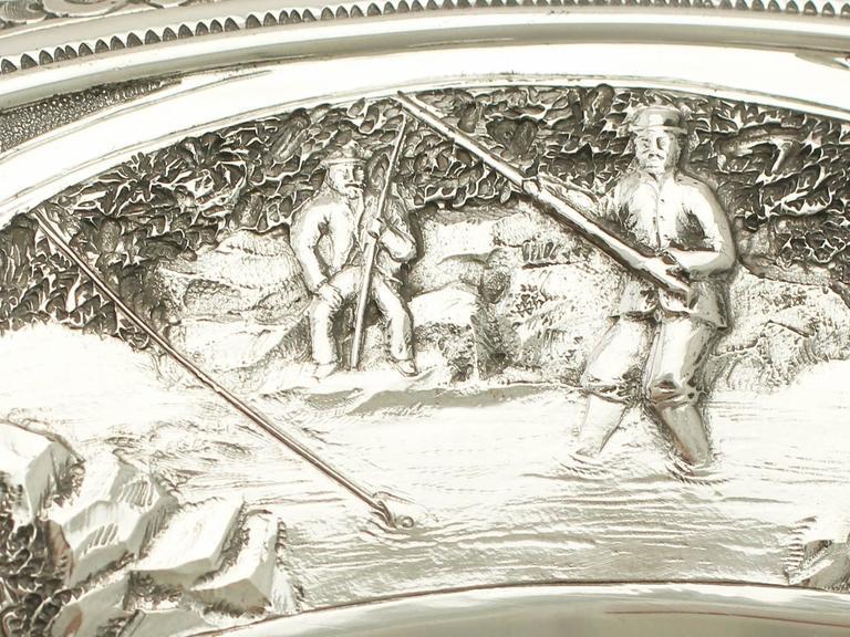 Antique Victorian Scottish Sterling Silver Tazza For Sale 4