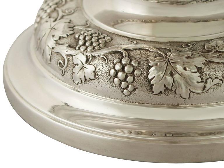 Antique George V Sterling Silver Presentation Bowl For Sale 2
