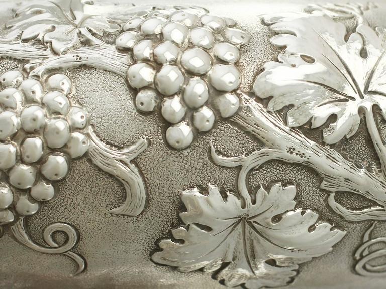 Antique George V Sterling Silver Presentation Bowl For Sale 3