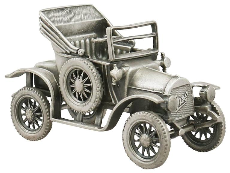 20th Century 1970s  Italian Sterling Silver Car Models / Table Ornaments For Sale