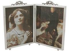 Victorian Sterling Silver Quadruple Photograph Frame