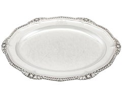 1825 Antique Sterling Silver Platter by Paul Storr
