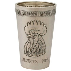 1900s German Silver Beaker