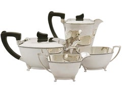 English Sterling Silver Tea and Coffee Service
