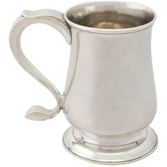 Georgian Newcastle Sterling Silver Pint Mug