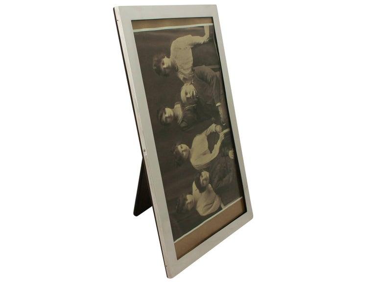Other Antique George V Sterling Silver Photograph Frame For Sale