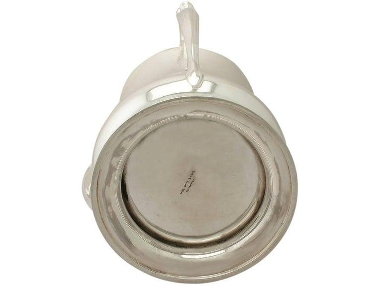 Antique Edwardian Art Nouveau Style Sterling Silver Presentation/Champagne Cup For Sale 4