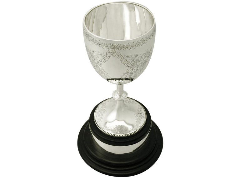 Sterling Silver Presentation Cup by Charles Stuart Harris, Antique Victorian In Excellent Condition For Sale In Jesmond, Newcastle Upon Tyne