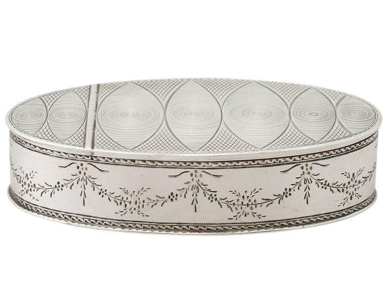 An exceptional, fine and impressive antique Austrian silver table snuff box; an addition to our ornamental silverware collection.